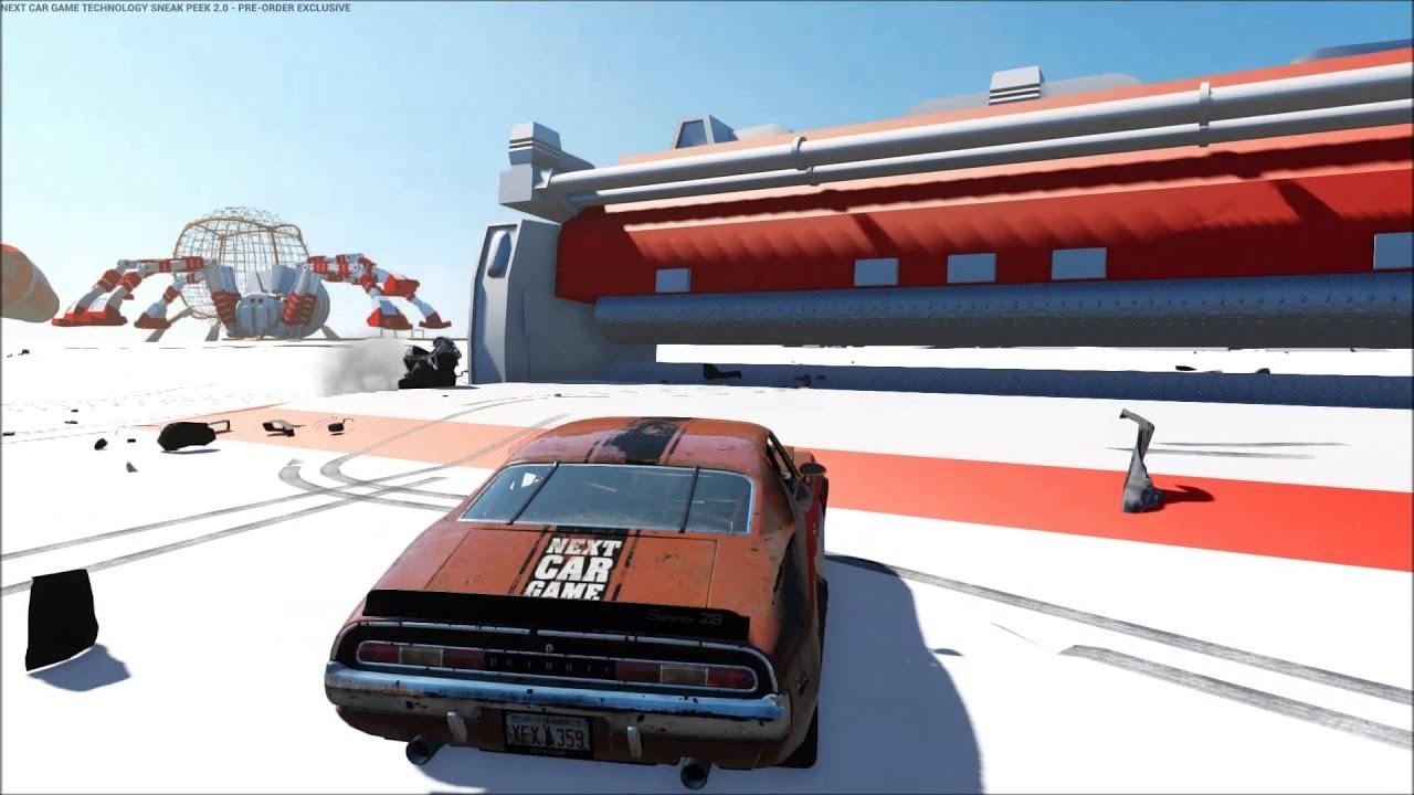 next car game demo  方法