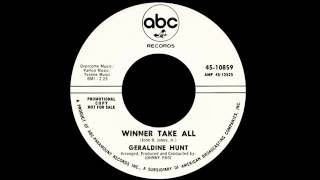 Geraldine Hunt - Winner Take All