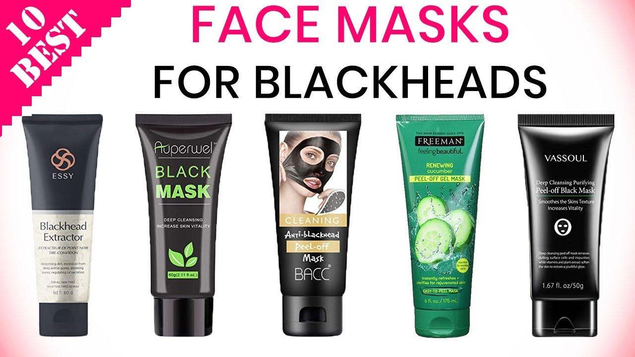 10 Best Face Masks For Blackheads 2020 For Whiteheads Acne Pores Oils Youtube