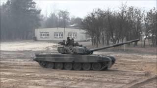 Pokaz szkolenia taktycznego pododdziału czołgów - TweetupMON - Wesoła 28.02.2016