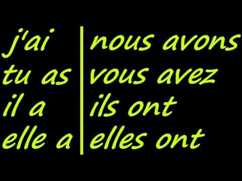 ♫ Avoir Conjugation Song ♫ French Conjugation ♫ Learn French ♫