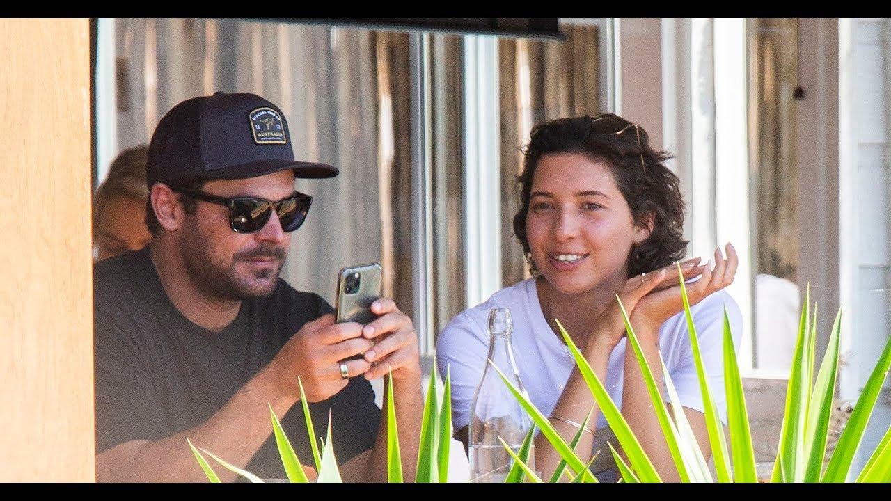 Zac Efron Spotted in Australia with Rumored Girlfriend Vanessa ...