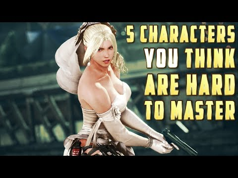 5 Characters You Think Are Hard to Master