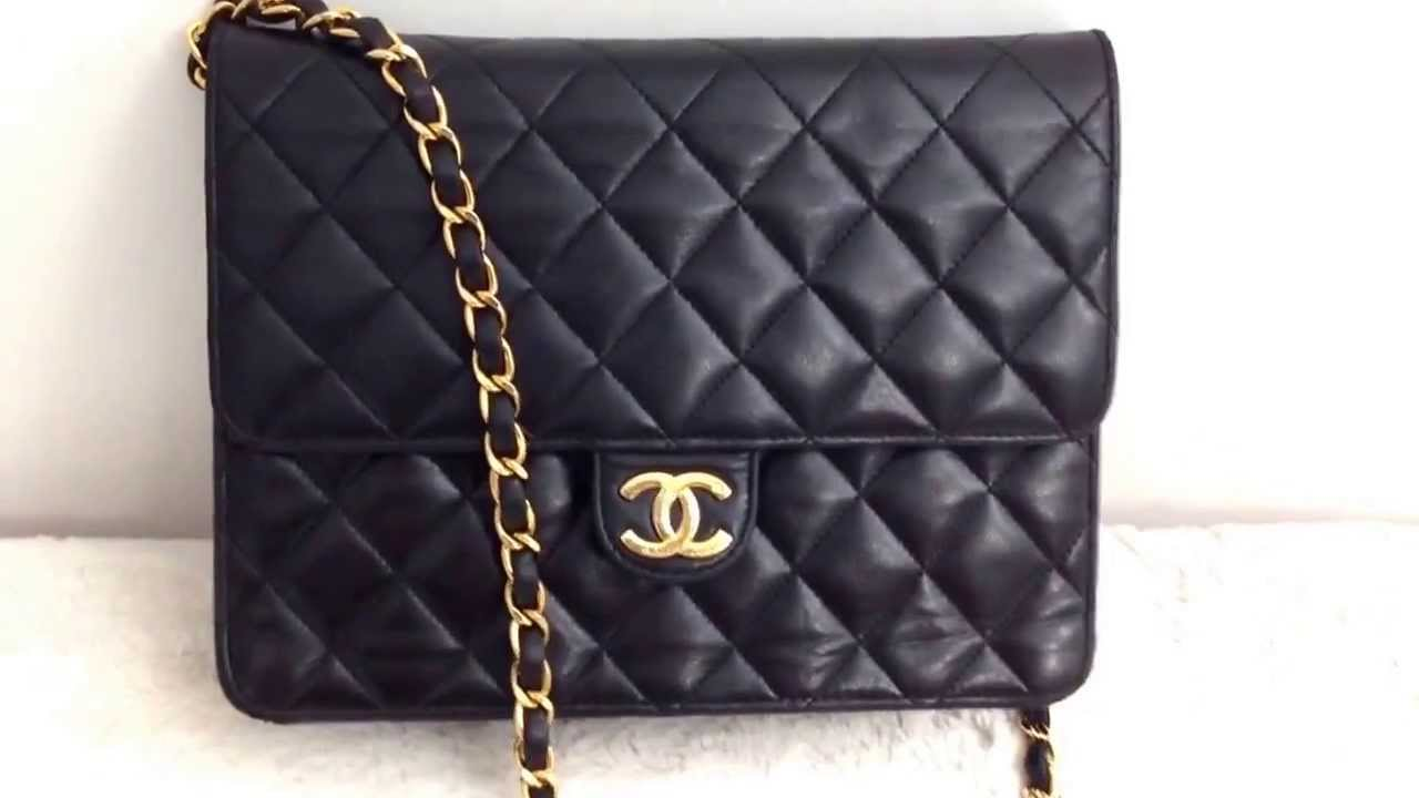 Chanel Vintage Single Flap Bag