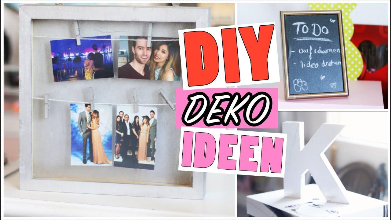 Diy pinterest inspired zimmer deko ideen l kisu youtube - Pinterest diy deko ...