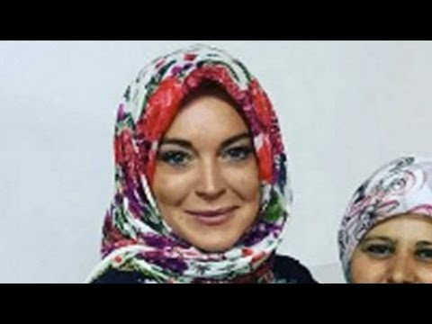 Lindsay Lohan Speaks Up On Islam