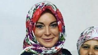 Lindsay Lohan Speaks Up On Islam