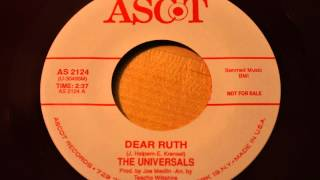 Universals - Kisses In My Dreams - Ascot 2124 - 1963