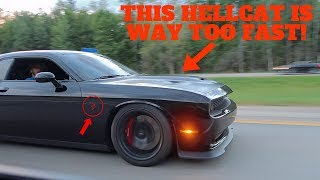 I RACED THE WRONG HELLCAT & GOT DESTROYED! *EMBARRASSING*