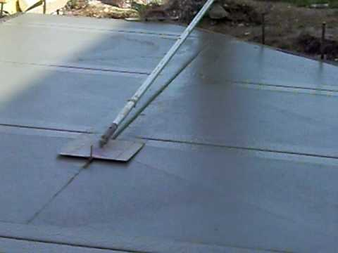 Concrete Jointer Tool Youtube