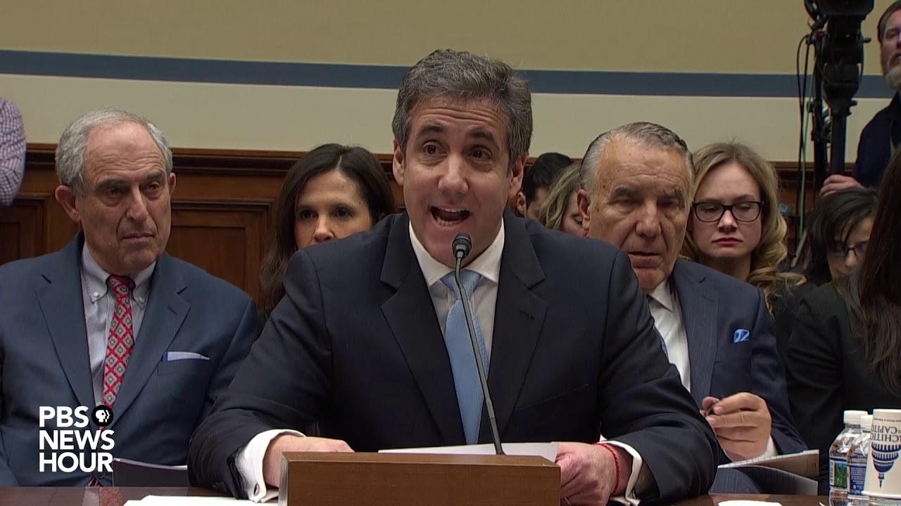 Read Michael Cohen's full prepared testimony on Trump's