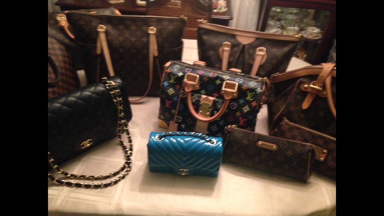 My Designer Handbag Collection- *Aug. 2015* Louis Vuitton ...