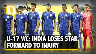 Aman Chhetri is missing the world cup due to leg injury caused by o...