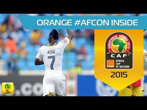Christian Atsu amazing goal against Guinea - Orange Africa Cup of Nations, Equatorial Guinea 2015
