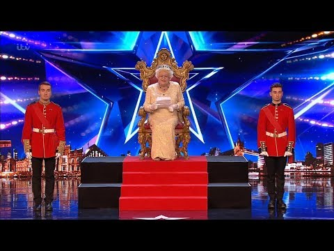 Britain's Got Talent 2019 The Queen Comedian Full Audition S13E01