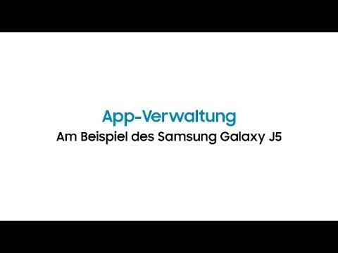 Daten Auf Sd Karte Verschieben J5.Samsung Galaxy J5 App Verwaltung