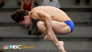 Teenager Tyler Downs stuns in springboard final to make Team USA | NBC Sports