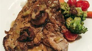 Gluten Free Pork Chops in Mushroom Sauce recipe