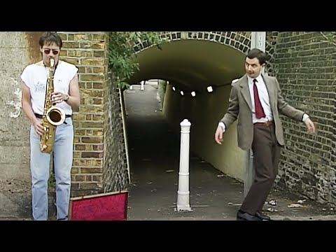 DANCING Bean   Funny Clips   Mr Bean Official