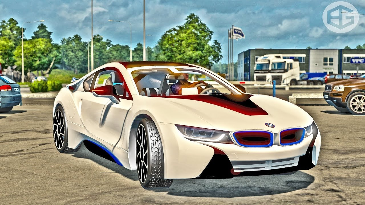 Bmw I8 Ets2 Euro Truck Simulator 2 Youtube