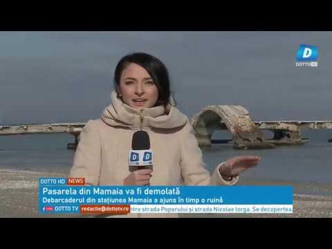 Pasarela din Mamaia va fi demolată