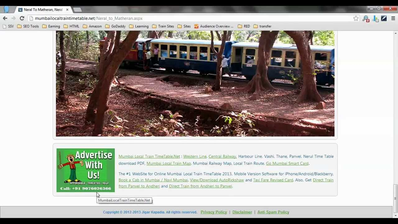 how to go from neral to matheran