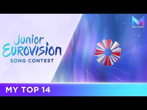 Junior Eurovision 2017 - MY TOP 14 (so far)