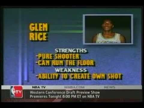 NBA Draft moments- Glen Rice