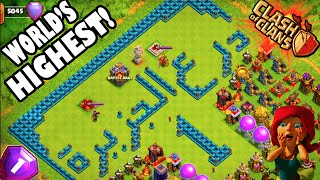 "Clash of Clans - WORLD'S HIGHEST! ""NEW TROPHY RECORD SET IN LEGENDS!"" #1 TOP PLAYER/CLAN! Week 1"