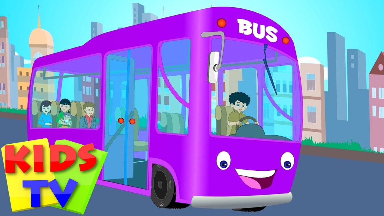 Wheels On The Bus Kids Tv