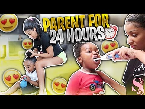 I TRIED BEING A MOM FOR 24 HOURS! 🍼