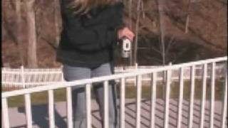 Installing Ez Handrail - Aluminum Handrail For Decks & More