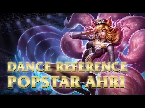 Popstar Ahri - Genie (소원을말해봐) Dance - League of Legends (LoL)