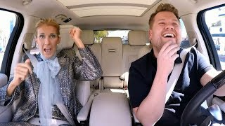 Celine Dion's takes on Carpool Karaoke with Baby Shark, Titanic