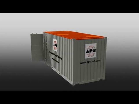 APS 22KL 20ft containerized bunded fuel tank