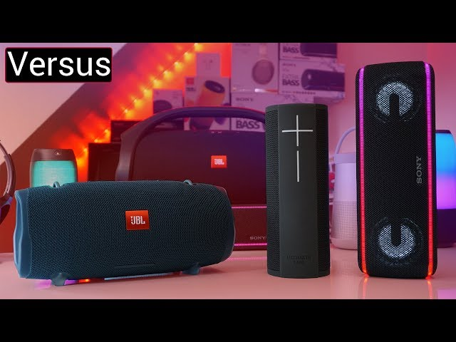Revisiting The UE MEGABLAST & Comparing It To JBL Xtreme 2 & Sony XB41