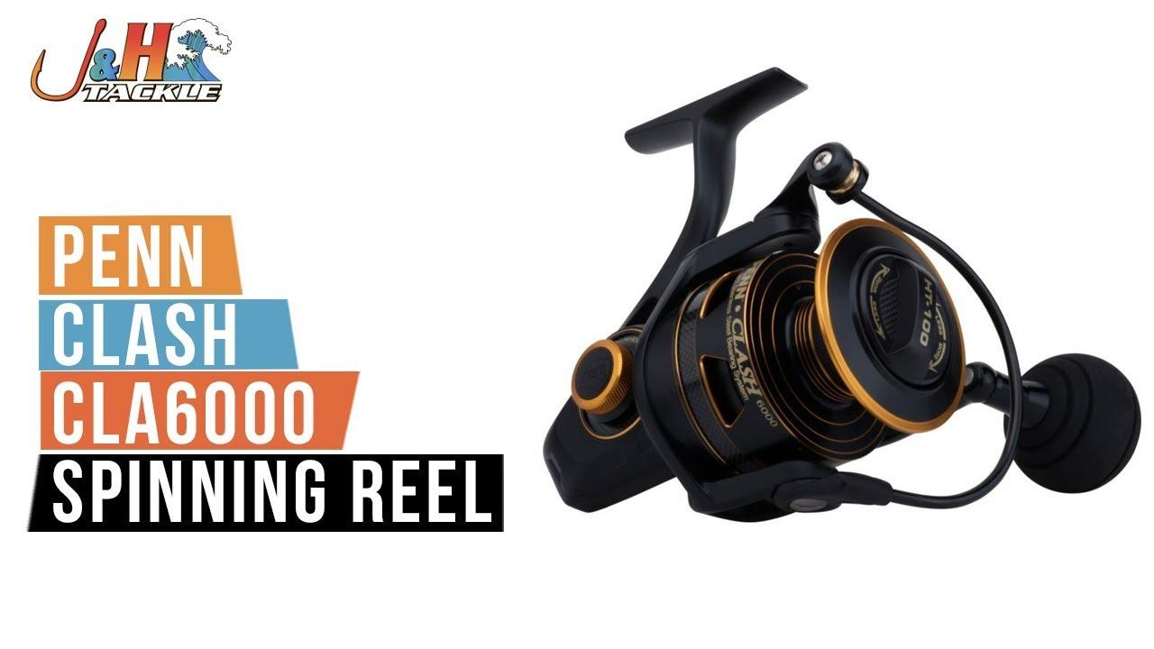 Penn Clash CLA6000 Spinning Reel | J&H Tackle