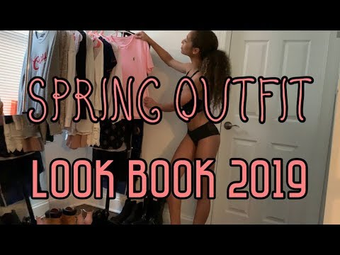 Spring Outfit Ideas || LOOK BOOK 2019 1