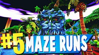 TOP 5 BEST MAZE RUNNER Map CODES in Fortnite CREATIVE | Fortnite Maze Runner Maps