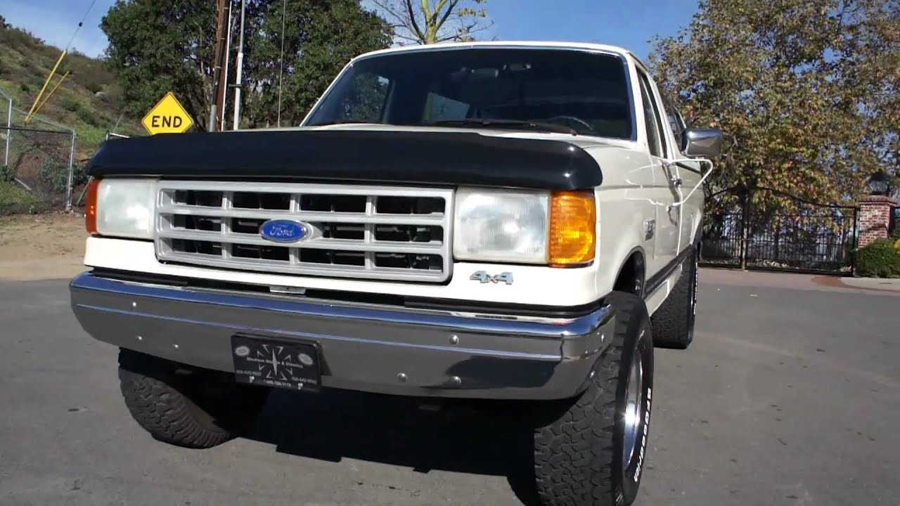1990 ford f 250 3 4 ton pickup truck mint 2 owner 33x12 50x16 5 for sale [ 1280 x 720 Pixel ]