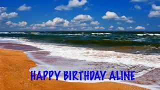AlineEnglish pronunciation   Beaches Playas - Happy Birthday