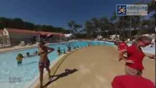 Camping de la Plage de Riez - Les piscines