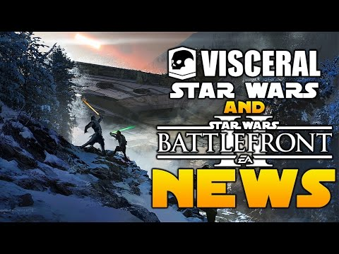 EA Star Wars Battlefront 2: NEW Movies Content PLUS Visceral Games Star Wars New Game