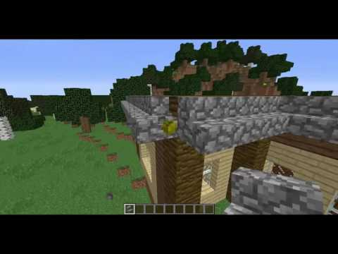 Minecraft Modern Evler Yapımı 2 Ev ve Bank