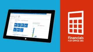 Financials for Office 365 - Microsoft Cloud Accounting Software