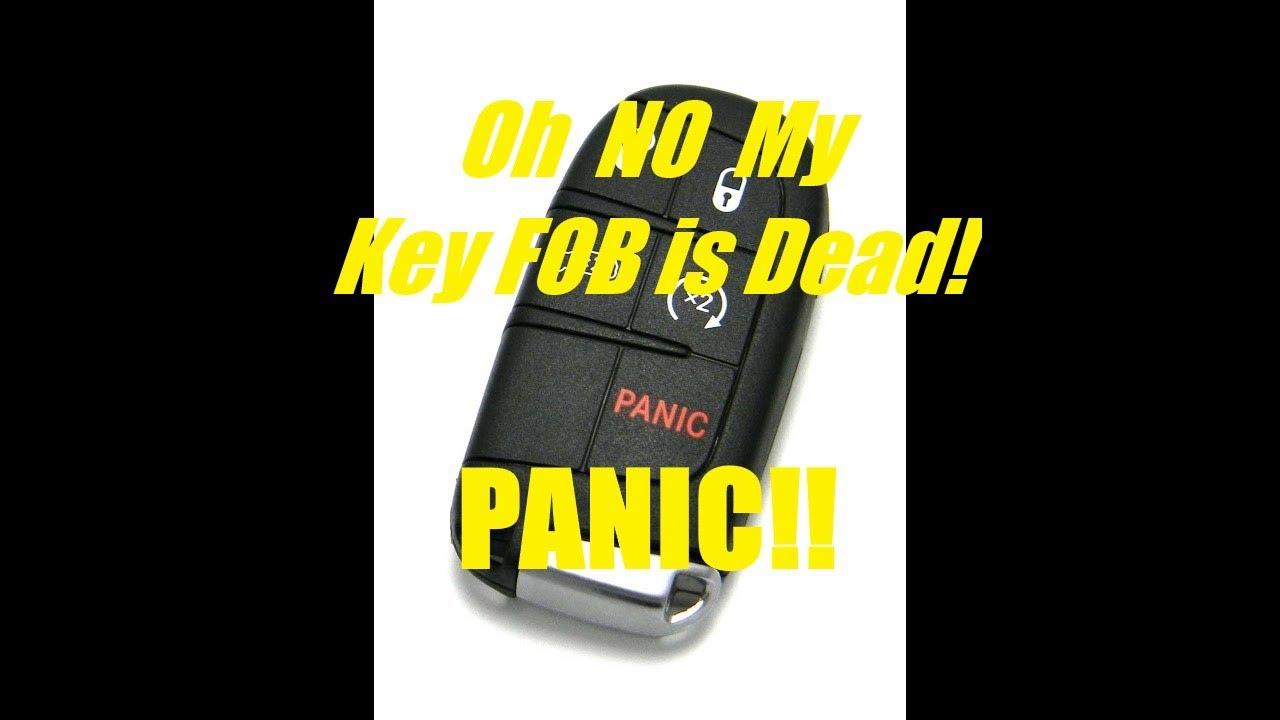 How To Start Vehicle With A Dead Key Fob Share This Video Youtube