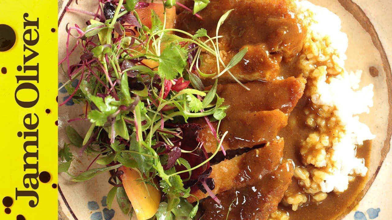 Japanese Chicken Katsu Curry | Gizzi Erskine - YouTube