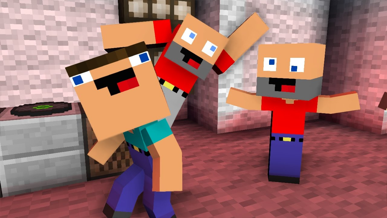 Night Dancers Life Minecraft Animation Noob Life Series