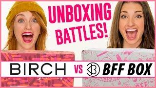 Unboxing BFF Box vs. Birchbox! | Unboxing Battles! thumbnail