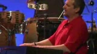 "jazz/blues guitarist michael powers plays ""pin high"""
